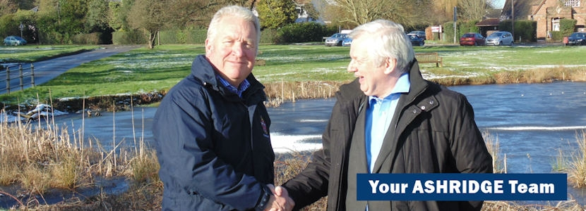 Mike Penning MP and Cllr Terry Douris