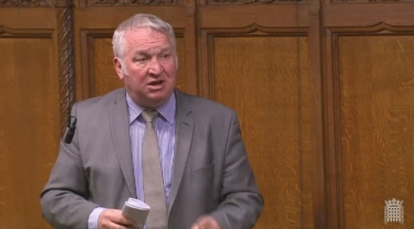 Mike Penning speaking in the House of Commons, 2018